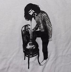Frank Zappa screen printed ***2XL*** t-shirt White cotton punk retro