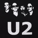 U2 band ***LARGE*** screen printed t-shirt Black punk retro