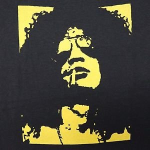 Slash Guns N Roses band ***SMALL*** Yellow on Black t-shirt screen printed