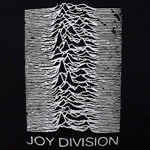 Joy Division band UP cover ***SMALL*** screen printed t-shirt Black punk retro