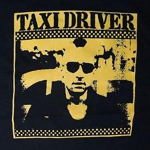 Taxi Driver 1976 movie ***2XL*** t-shirt Yellow on Black Robert De Niro
