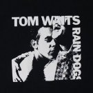 Tom Waits Rain Dogs album ***XLARGE*** black screen printed t-shirt