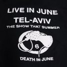 Death In June band ***SMALL*** Poster screen printed t-shirt Black