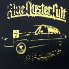 Blue Oyster Cult band ***SMALL*** screen printed t-shirt Yellow on Black retro