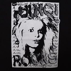 Hanoi Rocks band ***LARGE*** punk rock t-shirt Black