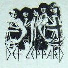 Def Leppard band ***SMALL*** White screen printed t-shirt