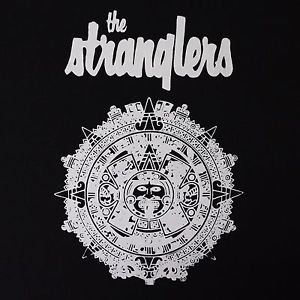 Stranglers band ***MEDIUM*** screen printed t-shirt Black punk retro