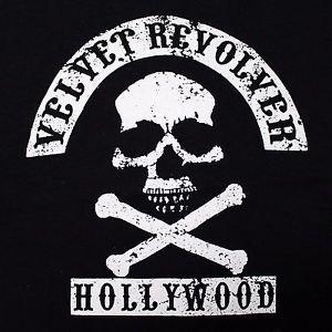 Velvet Revolver band ***SMALL*** Hollywood screen printed t-shirt Black