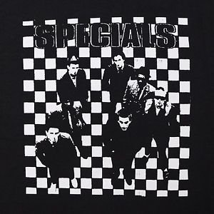 The Specials AKA band  ***MEDIUM*** screen printed t-shirt Black ska music