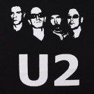 U2 band ***XLARGE*** screen printed t-shirt Black punk retro