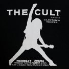 The Cult band t-shirt ***SMALL*** Black screen printed punk retro