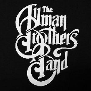 Allman Brothers band Logo ***SMALL*** screen printed t-shirt Black