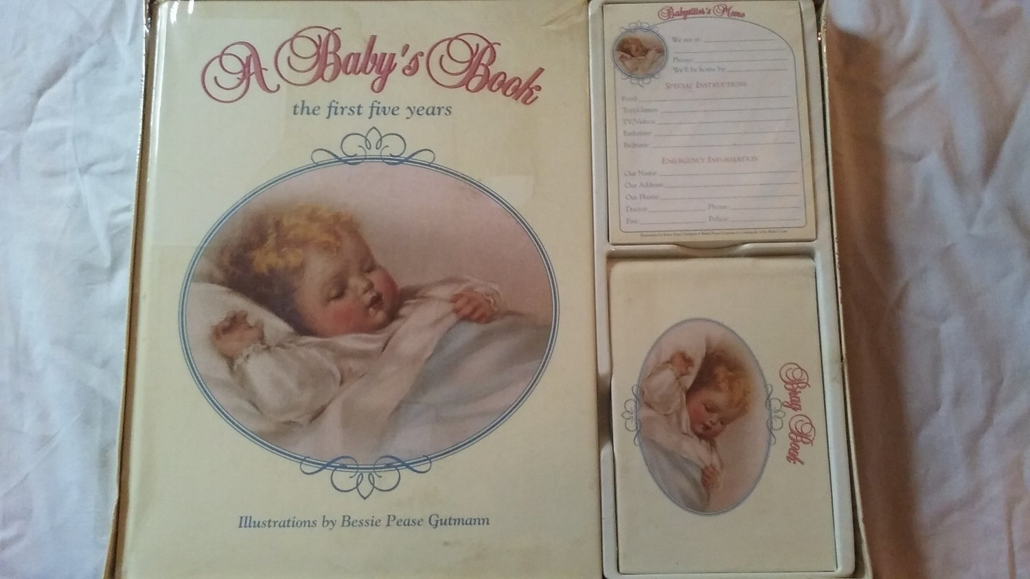 A Baby Book: The first five years