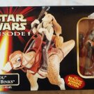 Star Wars Episode I: Kaadu and Jar Jar Binks