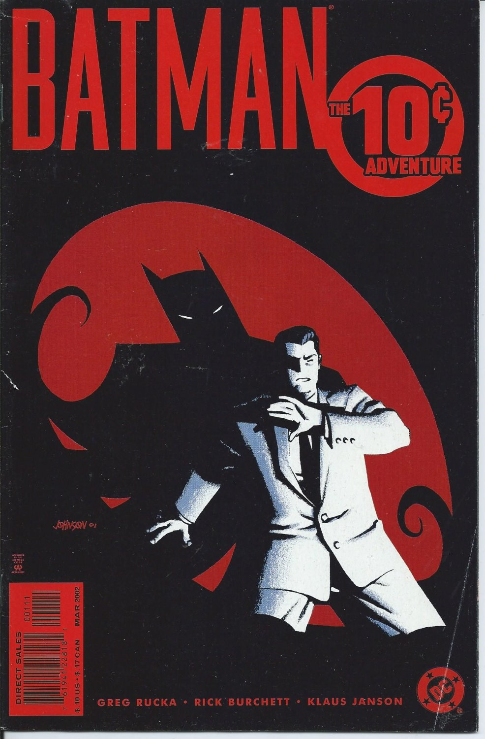 2001 Batman by Greg Rukka, Rick Burchett, Klaus Janson