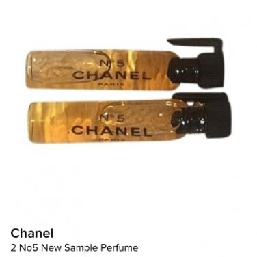 2 chanel no.5 women perfume travel size new edp