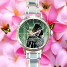 cute arrow season Stephen Amell round charm watches stainless steel