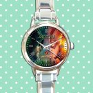 cute arrow season Stephen Amell and the flash round charm watches stainless steel