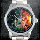 cool arrow season Stephen Amell and the flash Stainless Steel Wristwatches