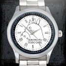 cool studio ghibli cartoon Stainless Steel Wristwatches