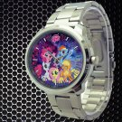 cool little pony friendship is magic galaxy nebula Stainless Steel Wristwatches