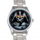 cool star wars darth vader master DJ trance Stainless Steel Wristwatches