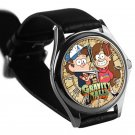 cool Gravity Falls Dipper Mable Pines Wendy leather silver Wristwatches