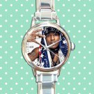 cute ASAP Rocky love live A$AP rap round charm watches stainless steel