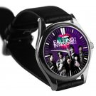 cool Falling in reverse logo ronnie radke leather silver Wristwatches