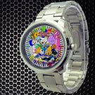 cool adventure time finn & jake characters Stainless Steel Wristwatches