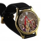 cool Pretty little liars who is A leather gold Wristwatches