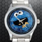 cool cookie monster Stainless Steel Wristwatches