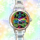 cute FLATBUSH ZOMBIES juice round charm watches stainless steel
