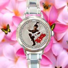 cute my chemical romance paradie round charm watches stainless steel