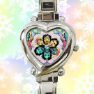 cute FLATBUSH ZOMBIES juice heart charm watches stainless steel