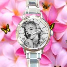 cute marilyn monroe quotes beautiful actress round charm watches stainless steel
