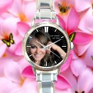 cute Jenni Rivera Memoriam RIP mexico round charm watches stainless steel