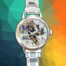 cute stephen curry golden state warriors round charm watches stainless steel