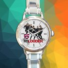 cute R5 Louder Band logo round charm watches stainless steel
