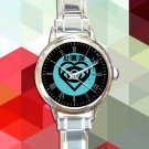 cute all time low future hearts logo round charm watches stainless steel