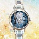 cute Tim Burton Corpse Bride round charm watches stainless steel