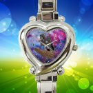cute Lion King Kylo Ren Dart Vader nebula hearts logo heart charm watches stainless steel