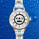 cute Hieroglyphics Logo rap hip hop round charm watches stainless steel
