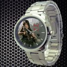 cool walking dead season zombie daryl dixon Stainless Steel Wristwatches