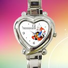 cute undertale Papyrus Frisk and Sans hearts logo heart charm watches stainless steel