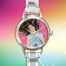 cute Lauren Jauregui Fifth Harmony round charm watches stainless steel