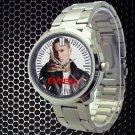 cool eminem berzerk album hip hop Stainless Steel Wristwatches