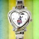 cute Mary Poppins vintage heart charm watches stainless steel