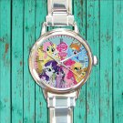 cute little pony friendship is magic cute round charm watches stainless steel