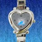 cute avicii broken arrows album heart charm watches stainless steel
